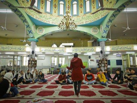 מסגד בעיר טייבה