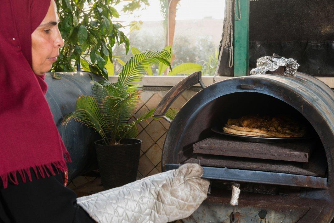 מסאחן בטאבון של סבריה צילום רגב כלף